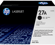 HP 27A Black Original LaserJet Toner Cartridge