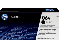 HP 06A Black Original LaserJet Toner Cartridge